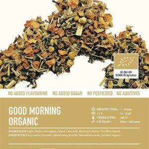 Good Morning Organic tea