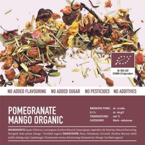 Pomegranate Mango Organic (Bio) tea