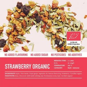Strawberry Organic (Bio) tea